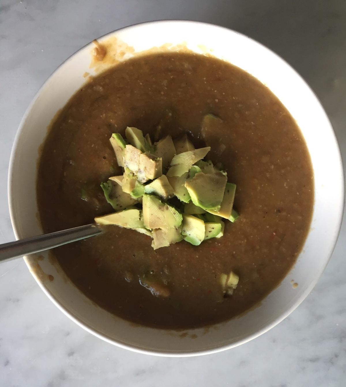 Creamed Lentil and VegetableSoup