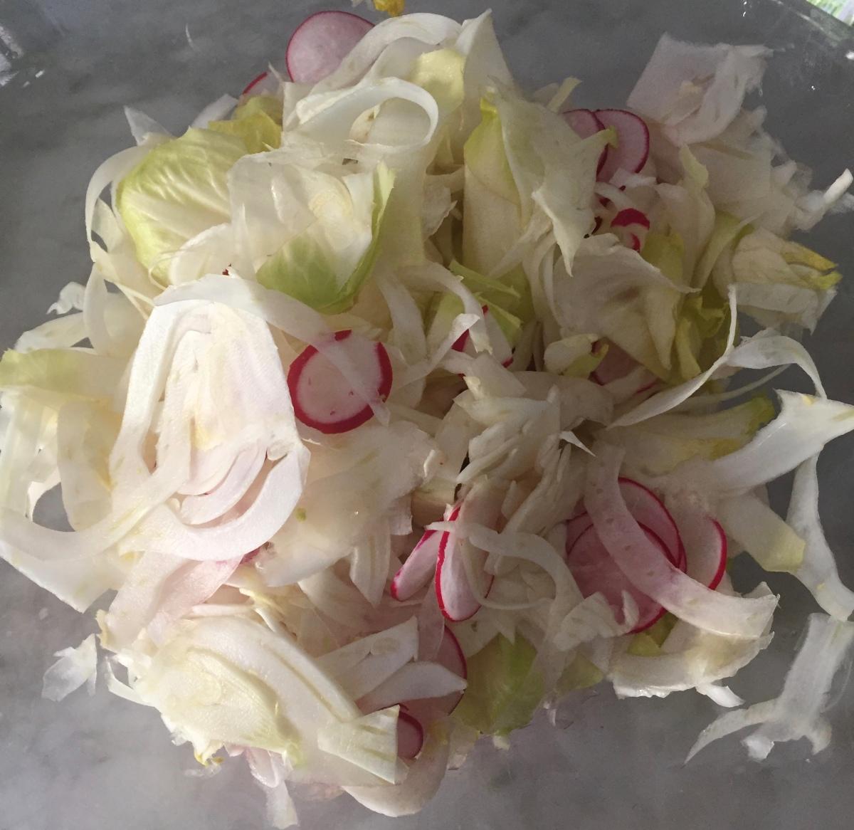 Spring Shaved Salad