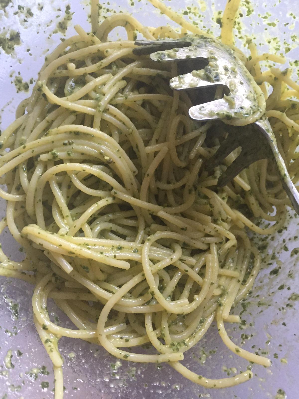 Pesto Genovese…Basil Pesto