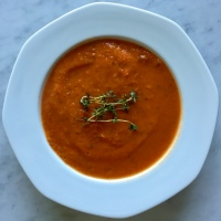 "Tomato Soup on ""Meatless Monday"""