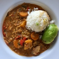 Meatless Monday... Chunky Lentil Stew